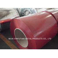 China PPGI Roof Sheet Prepainted Galvanized Steel Coil Color Blue  / Red / Green wholesale