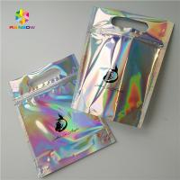 Buy cheap Gravure Printing Clear Plastic Cosmetic Bags Top Handle Holographic Foil For from wholesalers