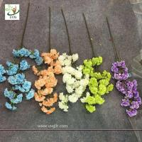 China UVG silk flower arrangement in artificial blossom tree branches wedding backdrops material CHR130 wholesale