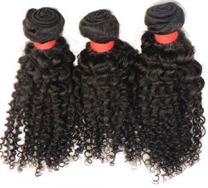 6a grade curly virgin human hair extensions natural color 100% human hair pelo virginal