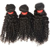 Quality 6a grade curly virgin human hair extensions natural color 100% human hair pelo virginal for sale