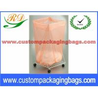 China Biodegradable Disposable Water Soluble Foldable Laundry Bag for medical centre on sale