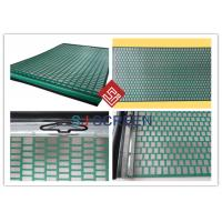 China Lightweight Rectangle Oil Vibrating Screen 1050x695 Mm Size API RP 13C Standard wholesale