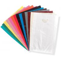 China Die Cut Handle Plastic Retail Gift Bags LDPE Material For Shopping wholesale