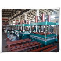 China Rubber Machinery Rubber Floor Tile Making Machine on sale