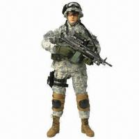 China 12-inch Military/1/6th OEM Soldier Action Figure with Camouflage Uniforms and Guns wholesale