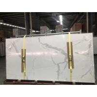 Buy cheap Calacatta ceramic Ultrathin porcelain big slab 3200 mmx 1500mm from wholesalers