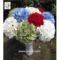 China UVG FHY20 wedding accessory silk hydrangea flowers artificial for bridal bouquets use wholesale