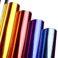 China Multi Colors Hot Stamping Foil Rolls for Plastics Glass Metallic Products on sale