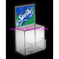 China China Manufacture Custom Donation Box With Poster And Card Holder wholesale