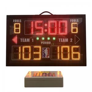 China Aluminum Portable Electronic Scoreboard , Baseball Field Scoreboard With Carry Handle wholesale