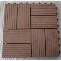 Quality WPC Decks and Terrace/Natural Feel wpc Decking Boards/eco-friendly wood plastic composite mahogany for sale