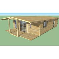Buy cheap Strong Plasticity Custom Container House , Steel Frame Prefabricated Houses from wholesalers