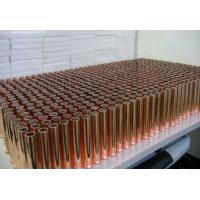China Industrial Telecommunications Copper Pipe Heat Sink With Copper Base Plate wholesale