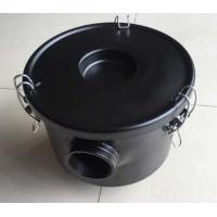 China 1.25 Inch Seamless Drawn Air Compressor Filter With Stainless Steel Torsion Clips wholesale
