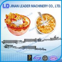 China CE ISO certification Corn Flakes Breakfast Cereals Machine wholesale