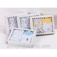 China 5pcs Newborn Baby gift sets  100% cotton with emb wholesale