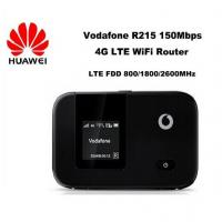 China New arrival Unlocked Huawei LTE FDD wireless router 150Mbps Vodafone R215 4G LTE Mobile WiFi Router wholesale