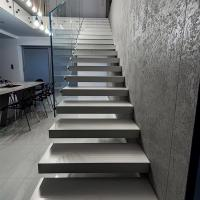 China Modern Floating stair / Glass Staircase / Build Floating Staircase wholesale