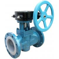 Buy cheap Soft Sealing Gas Lubricated  Plug Valve PN160 , Electric Or Pneumatic Plug Valve from wholesalers