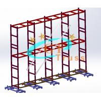 China GF Truss Aluminium 6061-T6 LED Display Truss Ground Supported wholesale
