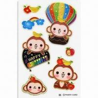 China Stickers, Suitable for Promotional and Gift Purposes, Available in Various Shapes wholesale