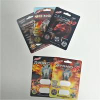 Buy cheap Buffalo Happy Time Blister Pack Packaging Rhino Pill Blister Paper Cards Custom from wholesalers