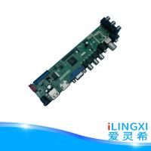 China LED  TV SKD LED TV tv  mainboard universal V59  for LCD TVs LED TVs with HDMI, VGA, USB, TV on sale
