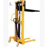 China CE Approved Manual Hydraulic Oil Drum Fork Lift 1-29 Sets 1500*830*2200mm wholesale