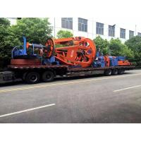 China European Tyle Cradle 1+1+3 Core Cable Twisting Machine 50RPM / NSK Bearing wholesale