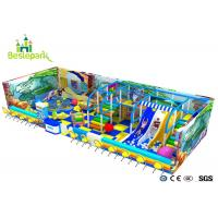 China Ball Pool Baby Indoor Playground Colorful Theme With Customized Size wholesale