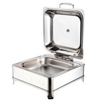 China Fábrica al por mayor barato Buffet Chafing Dish Redondo Chef de Acero Inoxidable En Plato 1801F wholesale