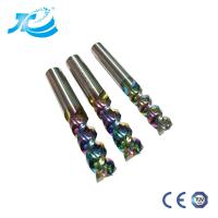 China DLC End Mill For Aircraft  Aluminum High Speed High Cutting Performance Cnc Tool Milling Cutter Machine Tool Colorful wholesale