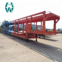 China 12 Vehicle Large Capacity Car Carrier Semi Trailer Overall Skeletal Structure wholesale