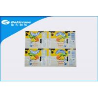 Buy cheap Self Adhesive Custom Paper Label Stickers For Food Packaging , Glosy Surface from wholesalers
