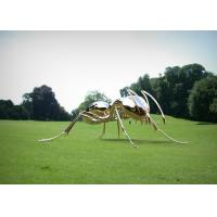 China Mirror Polishing Giant Ant Stainless Steel Sculpture Corrosion Stability wholesale