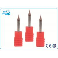 China Micro Grain Carbide CNC Milling Tools  , Micro Diameter Tapered Ball End Mills wholesale