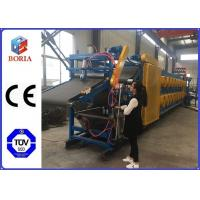 China Full Automatic Rubber Sheet Cooling Machine , 380/50Hz Rubber Batch Off Machine wholesale