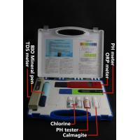 China high quality TDS/PH/ORP meter water test kit for all water test ABS box wholesale