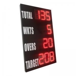 China Outside Model Portable Cricket Scoreboard , Electronic Cricket Scoreboards wholesale