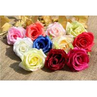 China UVG FBL02 silk roses artificial flower head for wedding flower wall backdrop use wholesale
