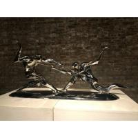 China Impressive Outdoor Metal Art Sculpture MES22 With Mirror Finish Surface wholesale