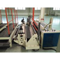 China Automatic Pvc Carpet Tiles , Hot - Air Circulation Oven Tile Production Line wholesale