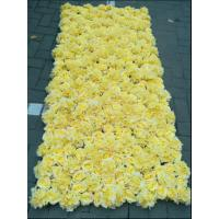 China UVG wedding decoration wholesale gridding artificial flower wall for stage backdrop decoration CHR1147 wholesale