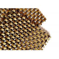 China 3D Appearance Curtain Decorative Wire Mesh , Stainless Steel Roller Shutter Mesh wholesale