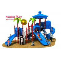 China Vivid Color Image Kids Plastic Slide , Shopping Mall Outdoor Play Slide 32m³ wholesale