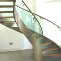 China Modern Design Stainless Steel Curved Stair / Circular Staircases wholesale