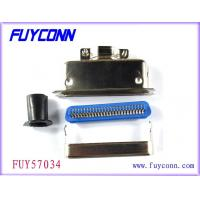 China MD Type Male Plug 24 Pin Centronics Connector , Solder Pin Connector on sale