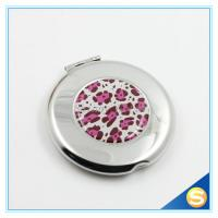China Metal Pocket Mirror Decorative Small Make Up Mirror on sale