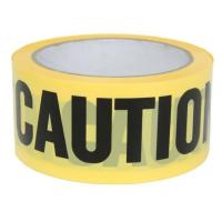 China Yellow PE Warning Tape(Barrier Caution Tape),Red DANGER Tape Caution Tape Roll 3-Inch Non-Adhesive Sharp Red Color Warni wholesale